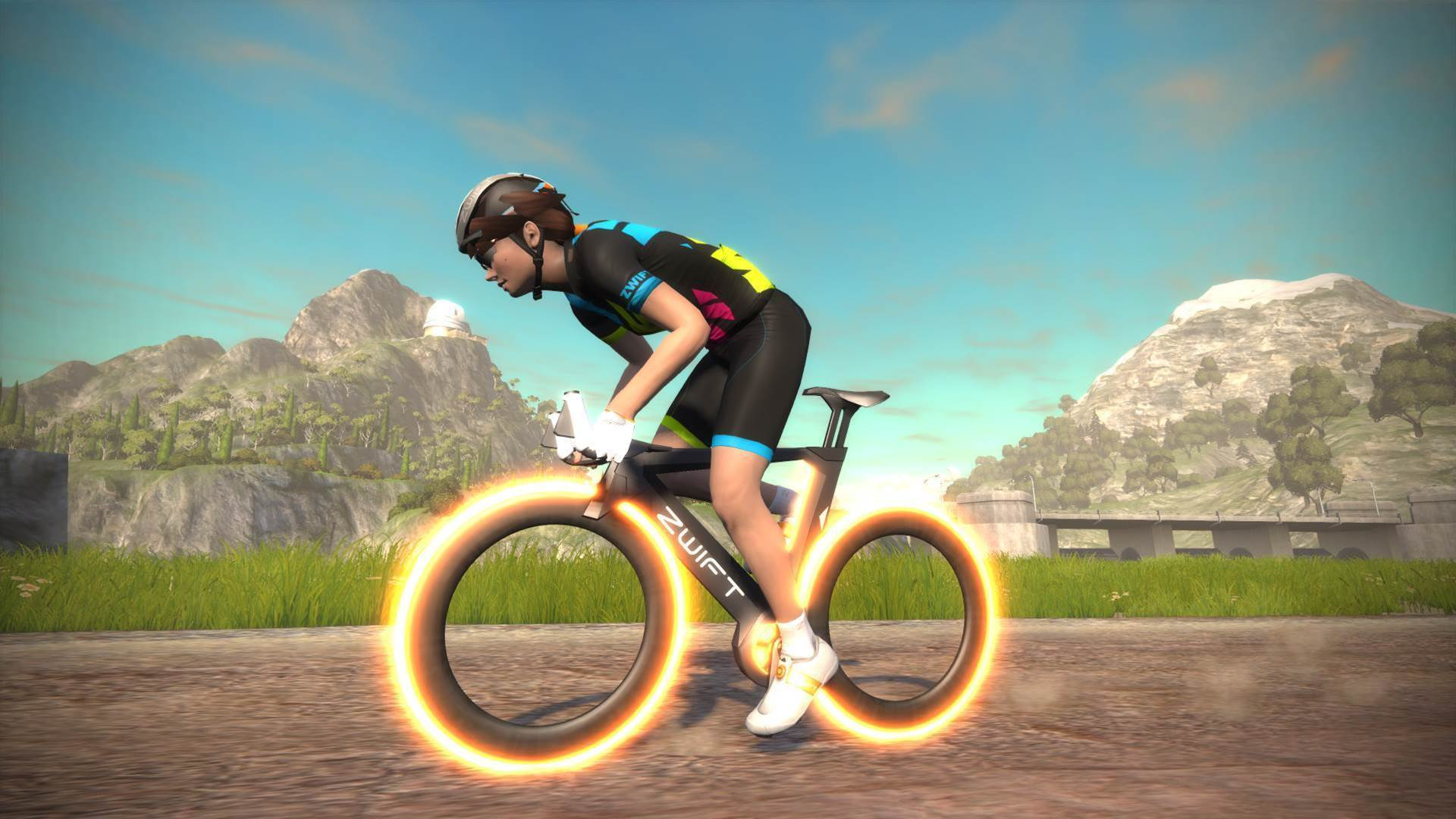 Cyclist smashes Zwift distance record