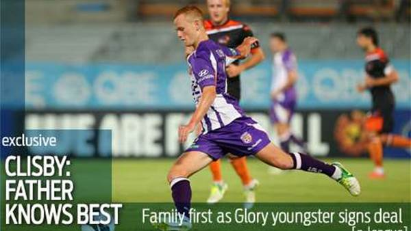 Family first for Glory's Jack Clisby