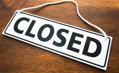 IIA shuts down