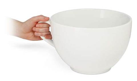 Work Christmas presents: the world's largest coffee cup