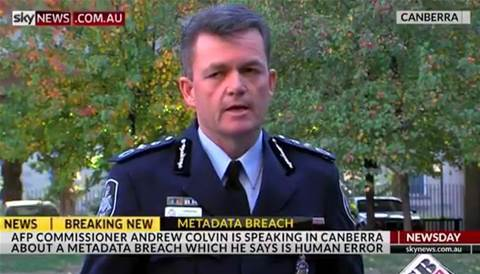 AFP breached data retention laws