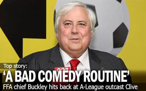 FFA: Palmer's 'A Bad Comedy Routine'
