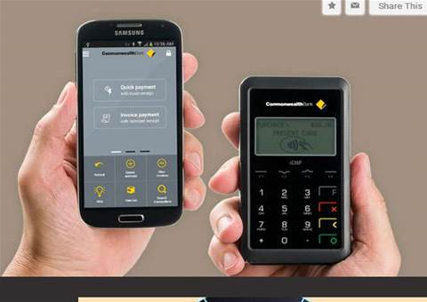 CommBank has a new app for accepting payments with your phone