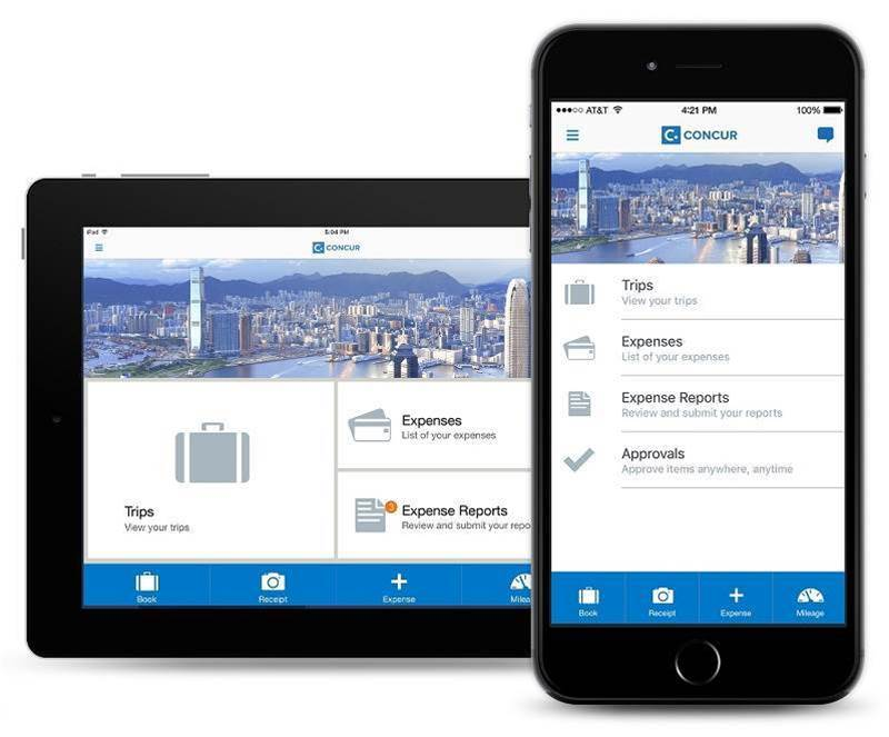 How Concur can ease expense and invoice management