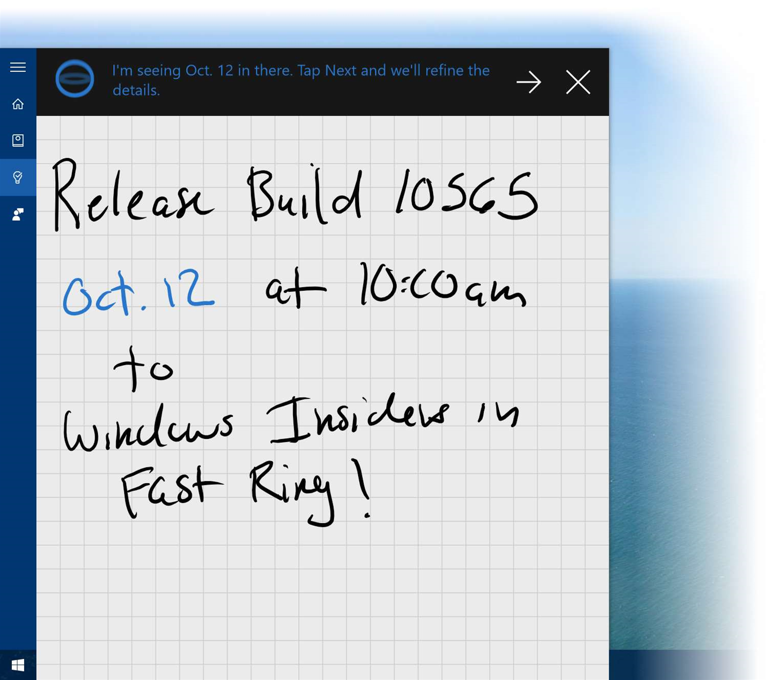 Win10 new build integrates Skype, shows off UI tweaks