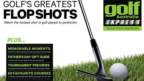 GA Express Issue 209: Golf's Greatest Flop Shots