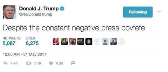 The COVFEFE Act aims to archive Trump's tweets for posterity