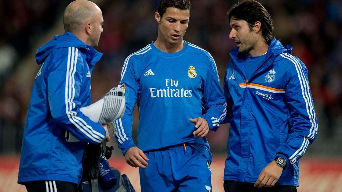 Ronaldo unconcerned over injury