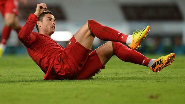 Ronaldo coy on Portugal booking