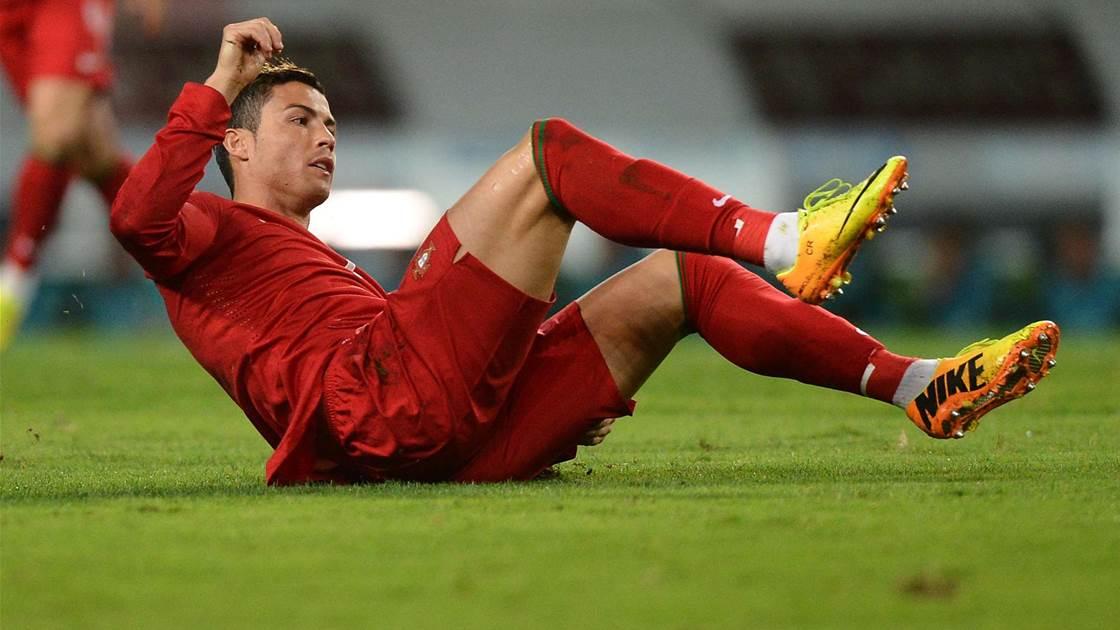 Ronaldo coy on Portugal booking