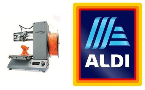 Aldi sells smaller 3D printer for $299