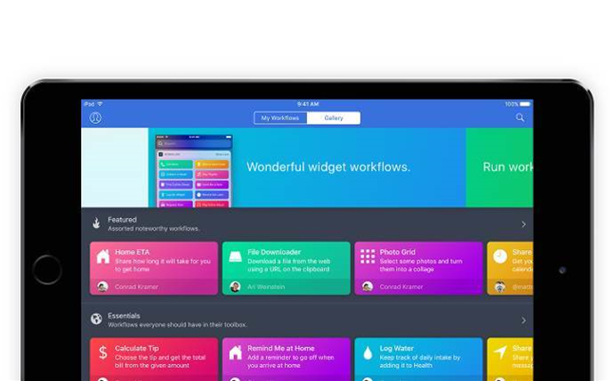 Apple acquires iOS automation platform Workflow