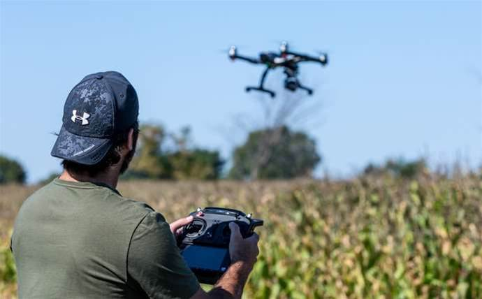 Beyond line-of-sight drone flights to track Victorian back burns