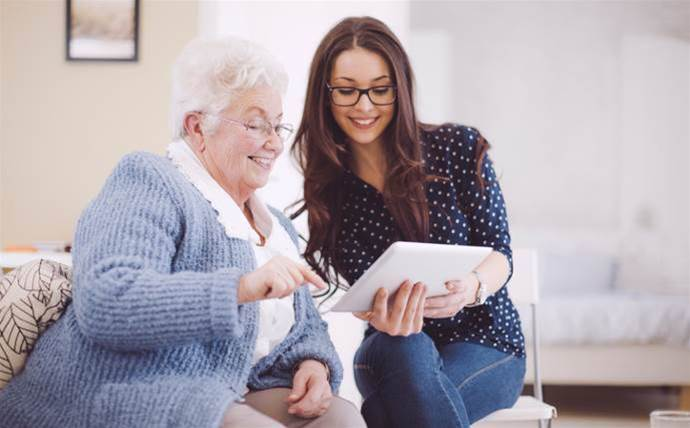 Samsung Australia and Ethan Group team up to bring tablets to seniors