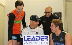 Leader Computers sponsors Carlton