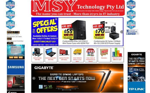 MSY Technology's website will get dragged into 21st century with Magento e-commerce