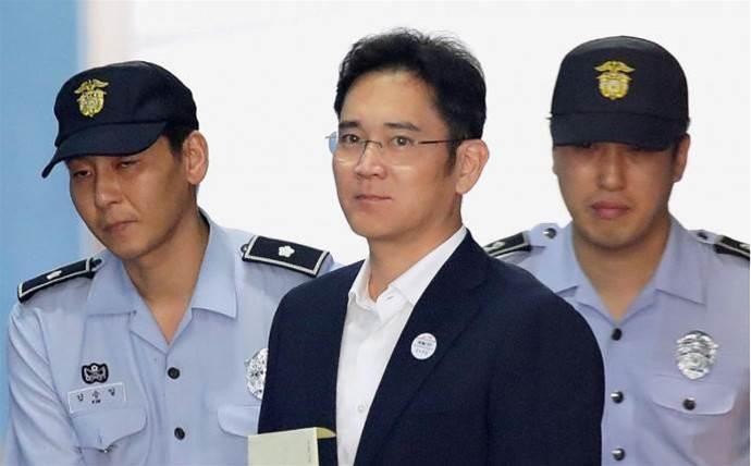 Samsung president Jay Y. Lee sentenced to five years in jail