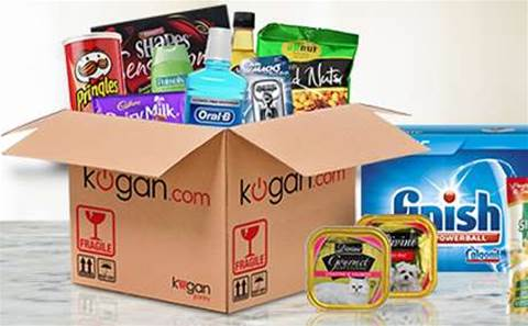 Kogan expands from technology to groceries