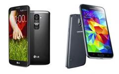 Samsung Galaxy S5 vs LG G2: the weigh-in