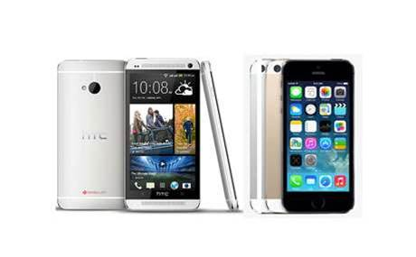 Head-to-head: HTC One M8 vs Apple iPhone 5s