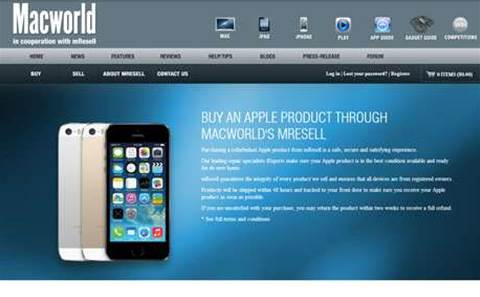 Macworld enters Apple resale market