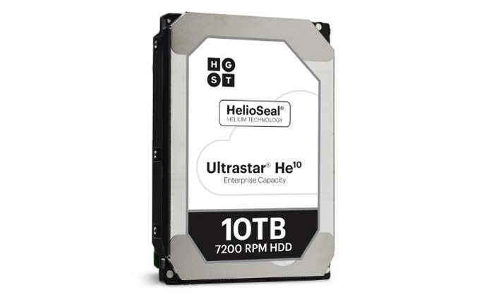 Western Digital launches world-first 'drop-in ready' 10TB drive