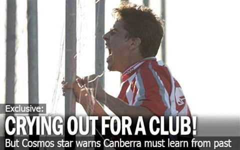 Canberra 'Crying Out For A Club'
