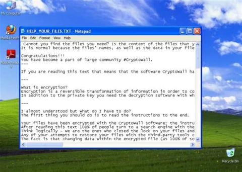 CryptoWall 4.0 the nastiest strain yet