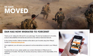 Australia's armed forces build their own Facebook