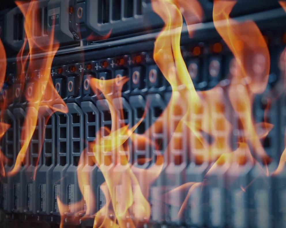 Data centre fire strikes UniSuper