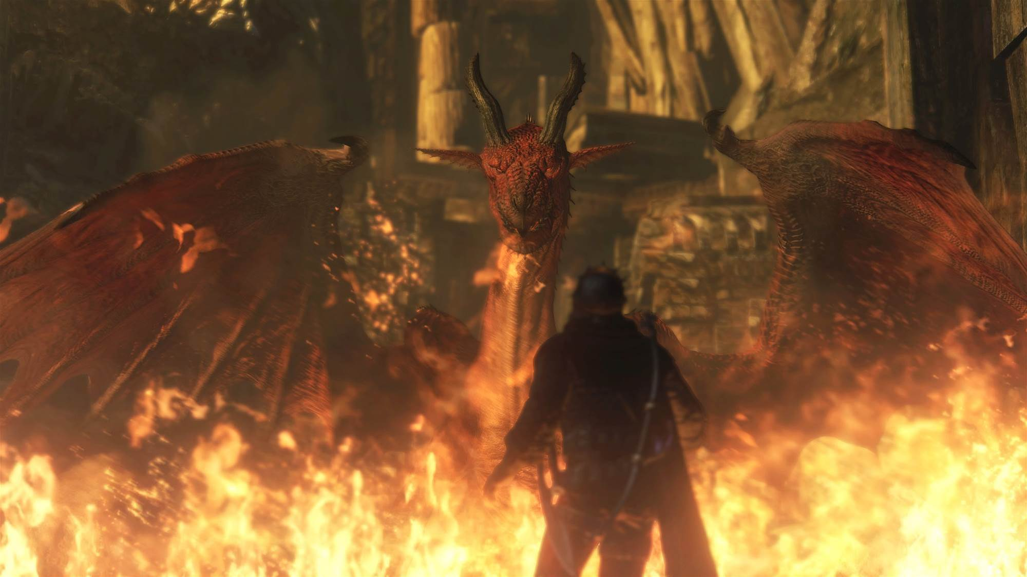 Dragon's Dogma arises on current gen this October