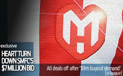 Heart turn down SMFC's $7m buy out