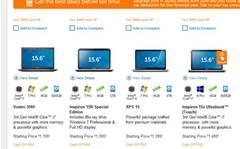 Laptop sale: Dell Inspiron 15R, XPS 15, Inspiron 15z Ultrabook on sale
