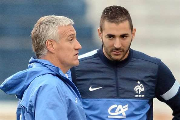 Deschamps hits out at Benzema criticism