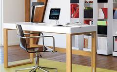 Setup your home office: simple tuck-away desks