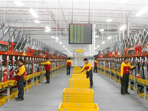 DHL turns to IoT to avoid truck-worker collisions