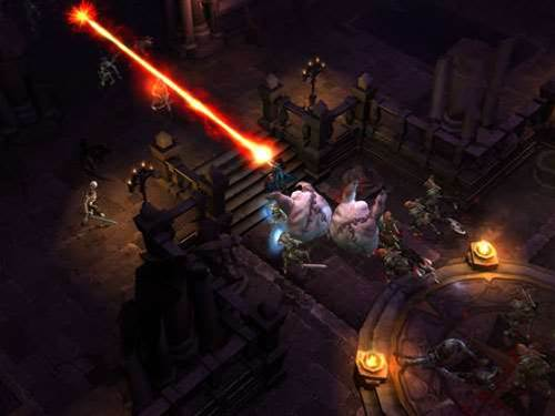 Diablo III's Wizard revealed - with LASERS!!!