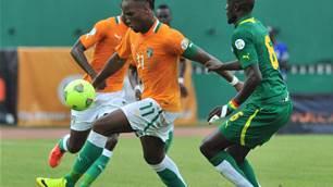World Cup playoff: Senegal 1 Ivory Coast 1 (2-4 agg)