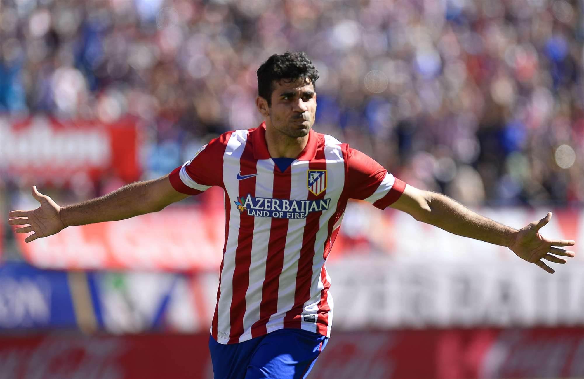 Iniesta: Costa is 'virtually unbeatable'