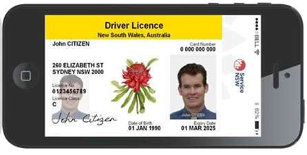 NSW could get digital drivers licences