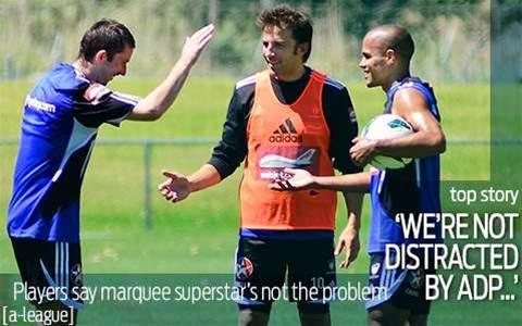 Del Piero No Distraction, Insists Sydney