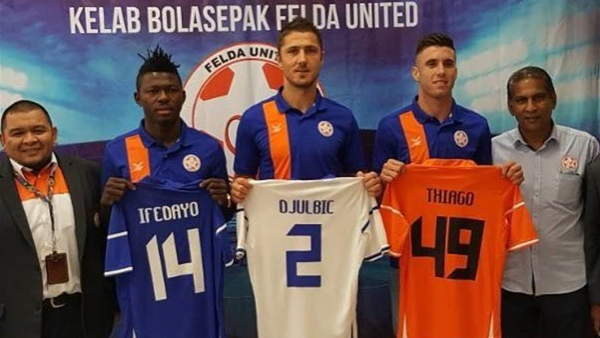 Djulbic joins Malaysian club