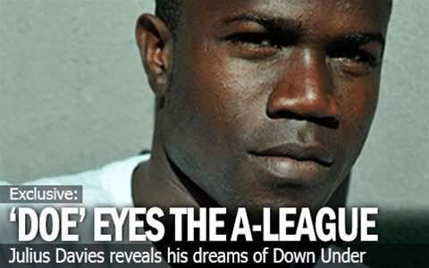 Julius Doe Davies Eyes The A-League