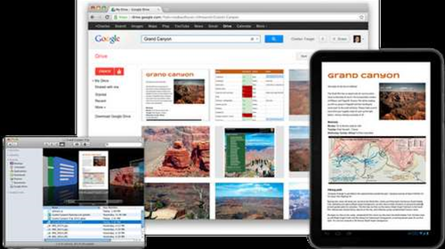 Google Drive launches with free cloud storage