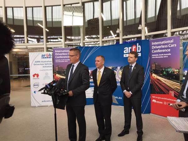 Driverless cars to take to Adelaide expressway
