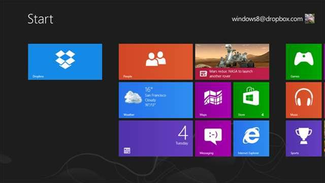 Download the free new Dropbox for Windows 8