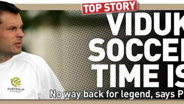 Viduka's Socceroo Career Is Over