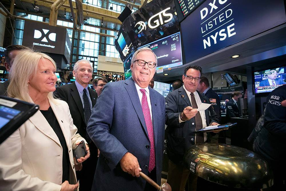 DXC arises from the ashes of HPE and CSC