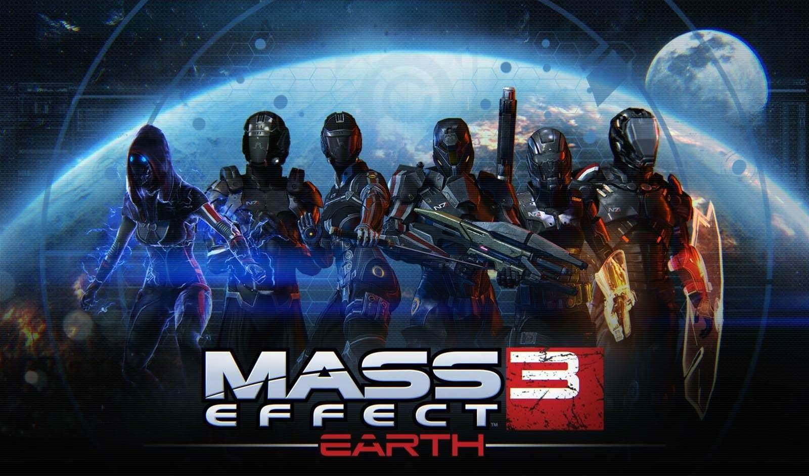 Mass Effect 3: Earth brings new maps, characters and weapons to multiplayer