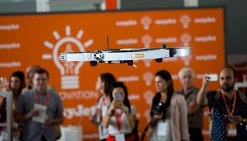 EasyJet to use drones for aircraft inspection